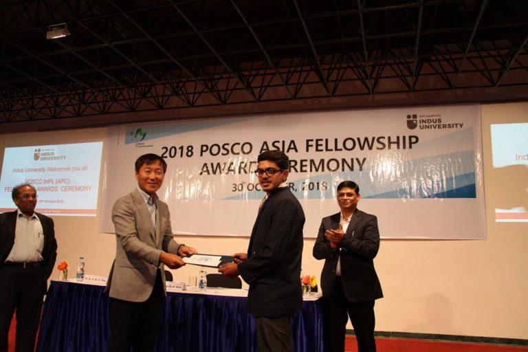 2018 POSCO Awards at Indus Univeesity - 30.10 (10)