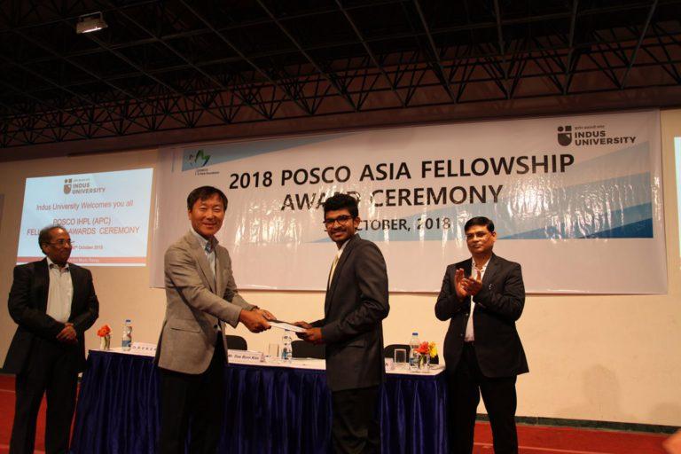 2018 POSCO Awards at Indus Univeesity - 30.10 (11)