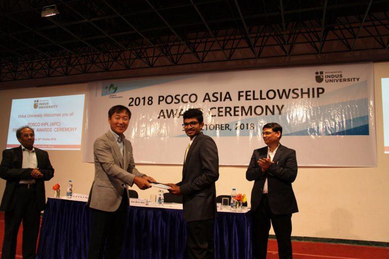 2018 POSCO Awards at Indus Univeesity - 30.10 (12)