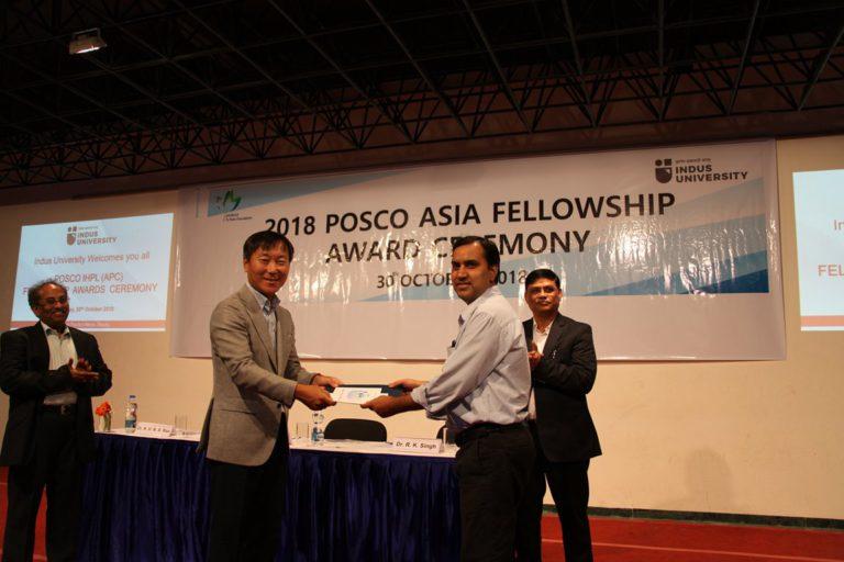 2018 POSCO Awards at Indus Univeesity - 30.10 (15)