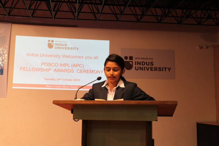 2018 POSCO Awards at Indus Univeesity - 30.10 (19)