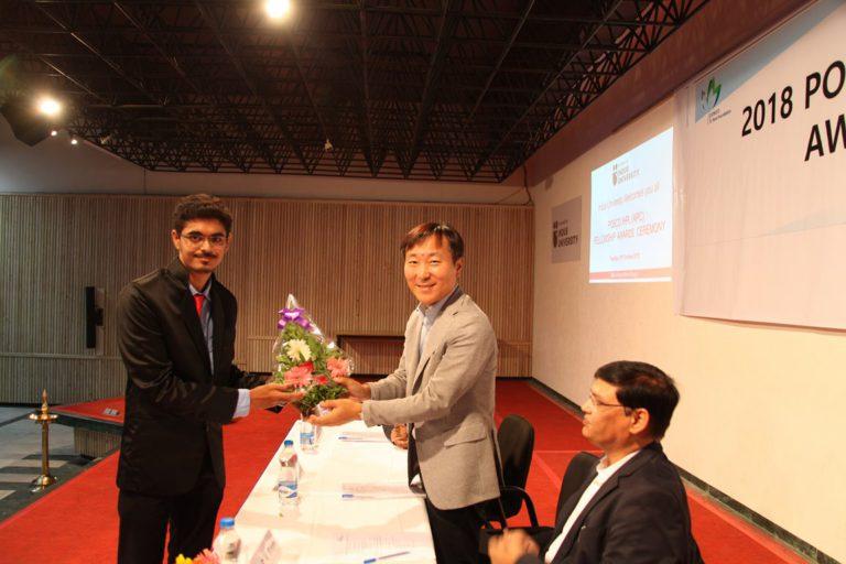 2018 POSCO Awards at Indus Univeesity - 30.10 (4)