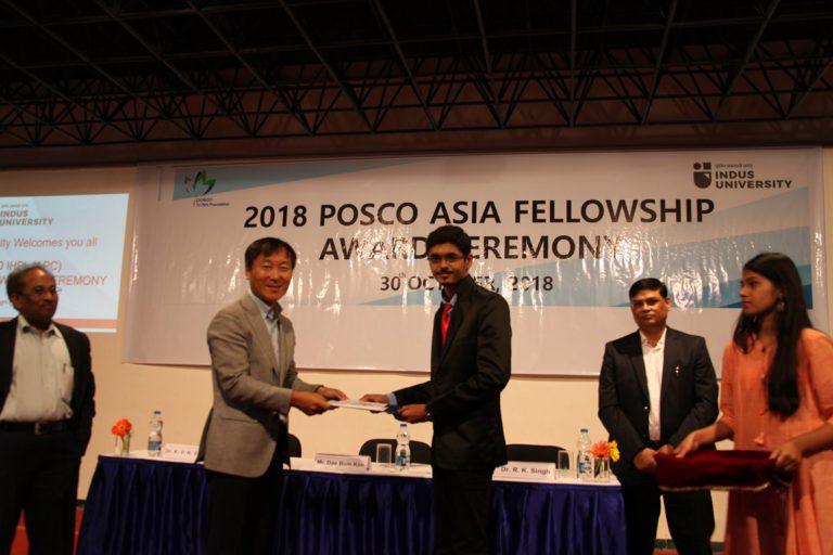 2018 POSCO Awards at Indus Univeesity - 30.10 (7)