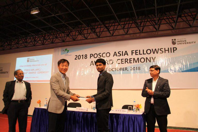 2018 POSCO Awards at Indus Univeesity - 30.10 (8)