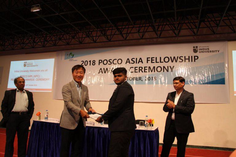 2018 POSCO Awards at Indus Univeesity - 30.10 (9)