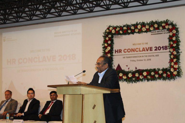 HR Conclave at Indus University 2018 (14)