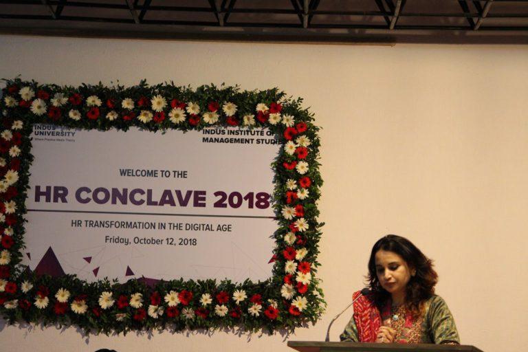 HR Conclave at Indus University 2018 (31)