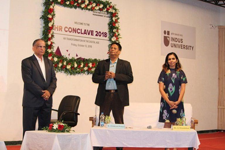 HR Conclave at Indus University 2018 (50)