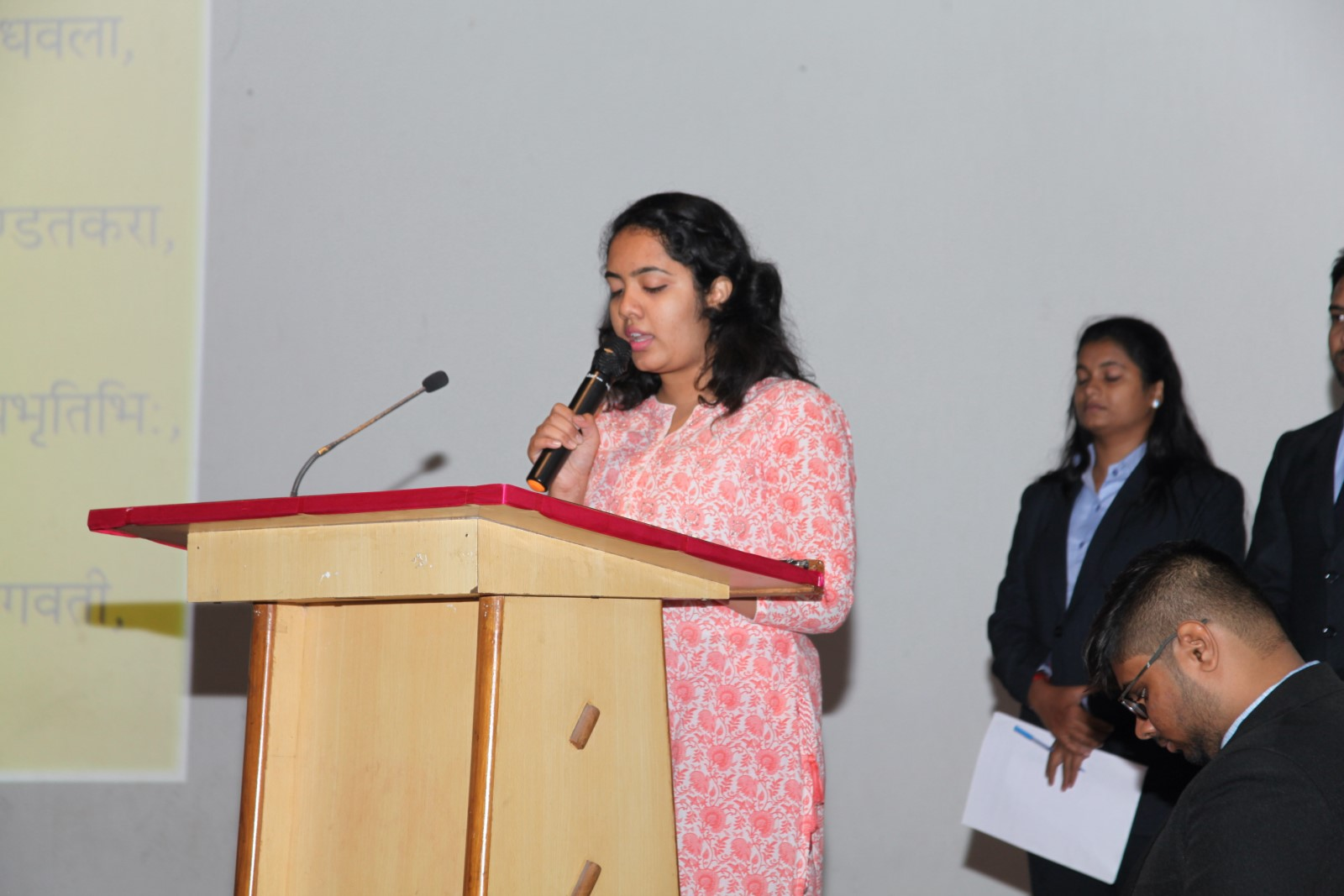 Dr. P. Kanagasabapathi at Indus University (2) (Copy)