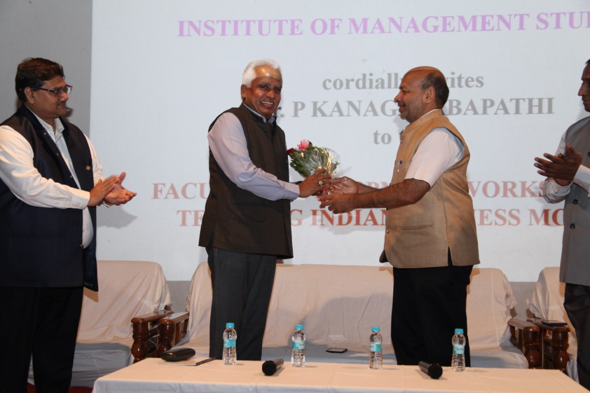 Dr. P. Kanagasabapathi at Indus University (6)