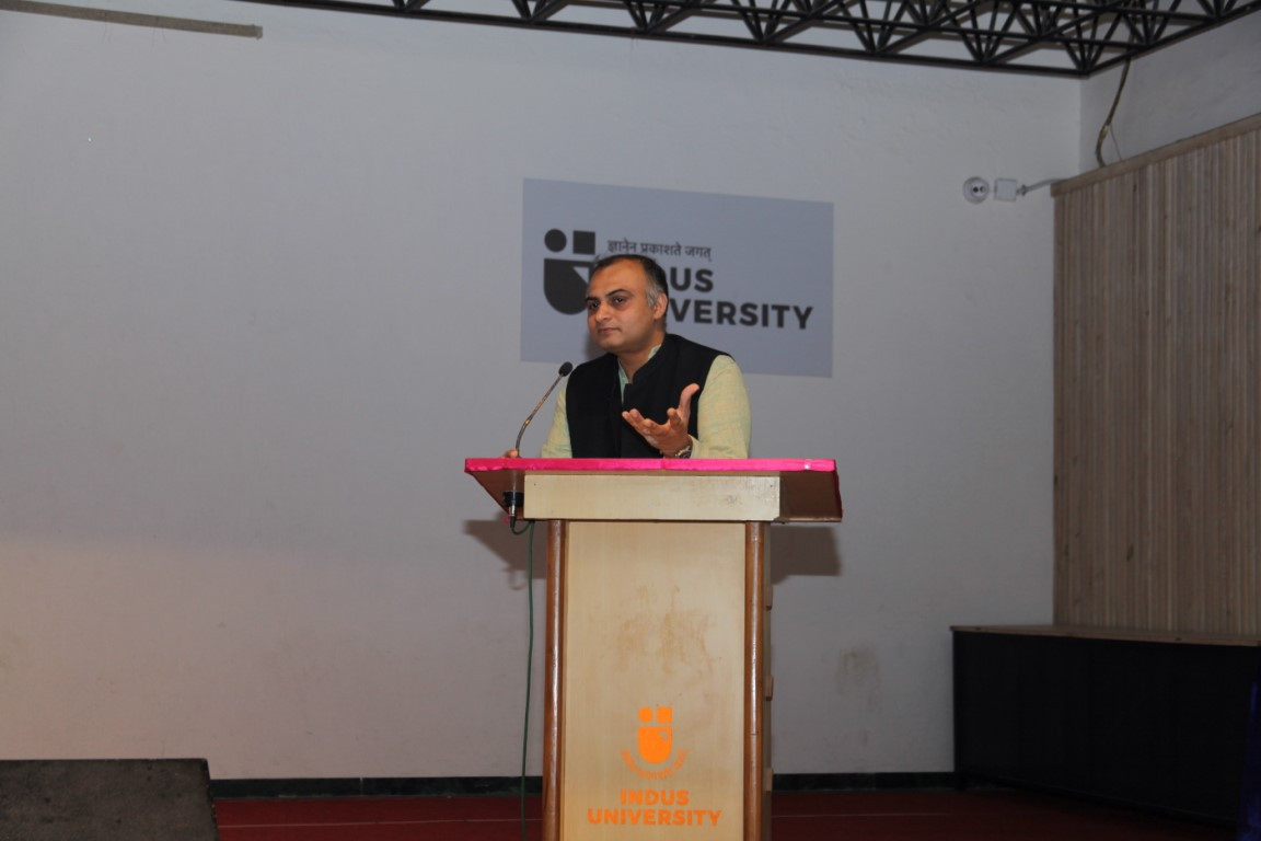 Dr. P. Kanagasabapathi at Indus University (7)