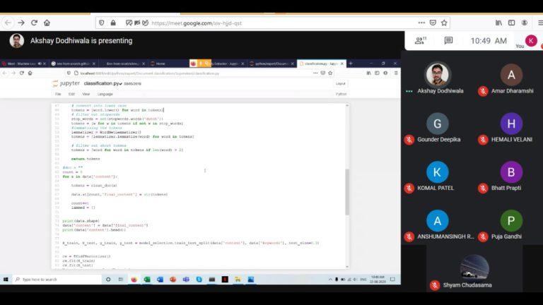 Machine Learning Algorithm Implementation - Webinar on 22 A ( (4)