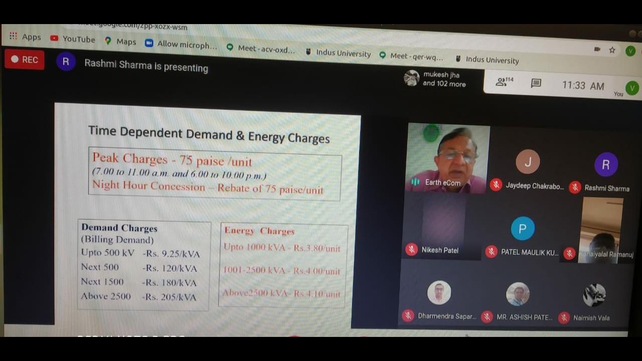 webinar on Energy Audit, Saving & management by Mr. Bhaskar Raval, (2)