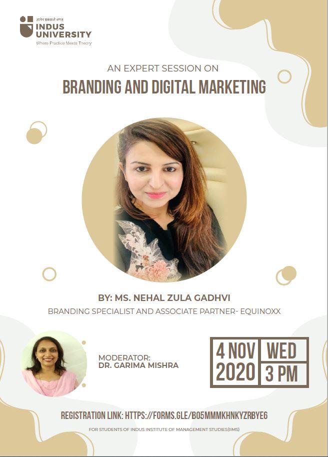 Branding and Digital Marketing - IIMS Event 20201104