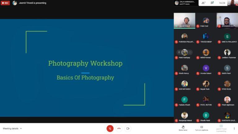 A Photography Workshop on Basics of Photography (3)