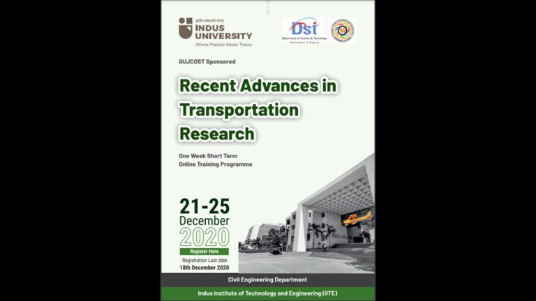Recent Advances in Transportation Research (1)