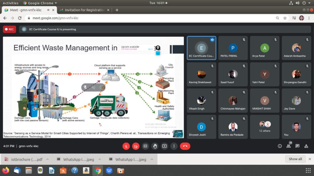 Certificate Course on Internet of Things (4)