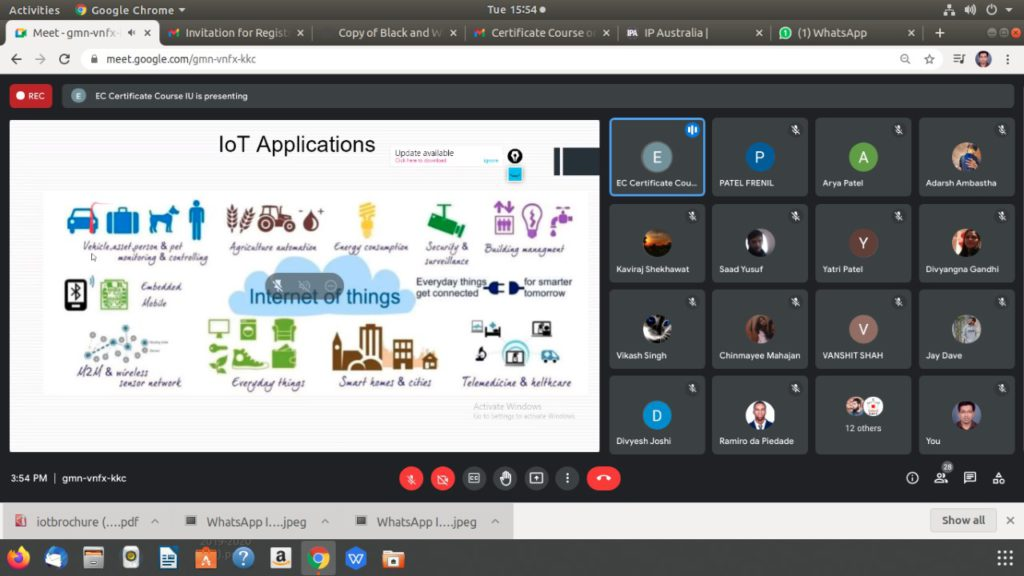 Certificate Course on Internet of Things (6)