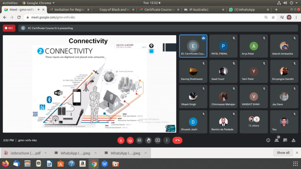 Certificate Course on Internet of Things (7)