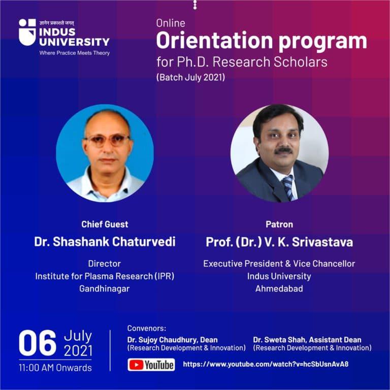 Phd Orientation 2021