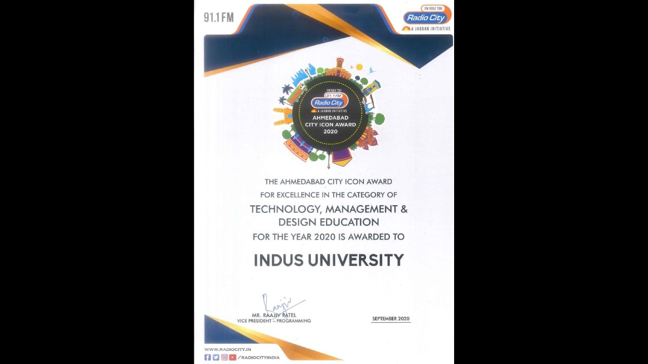 The Ahmedabad City Icon Award