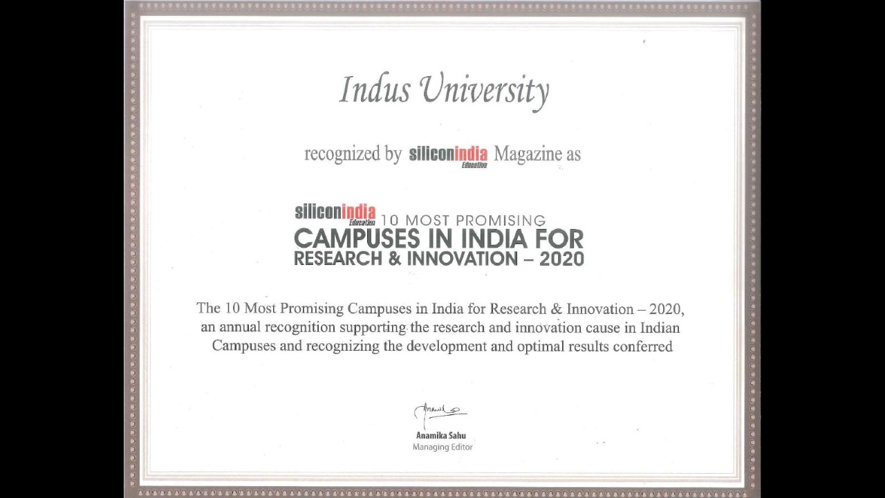 Promising Campuses in India for Research & Innovation