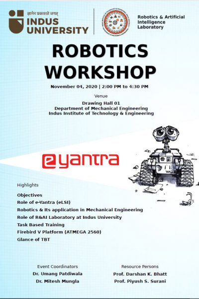 Workshop on ROBOTICS